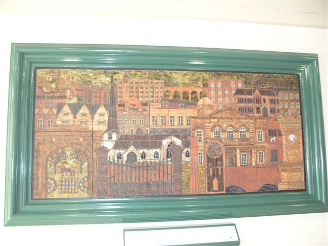 Mosaic in Merrywalks shopping centre