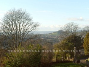 View from cemetery towards the Severn