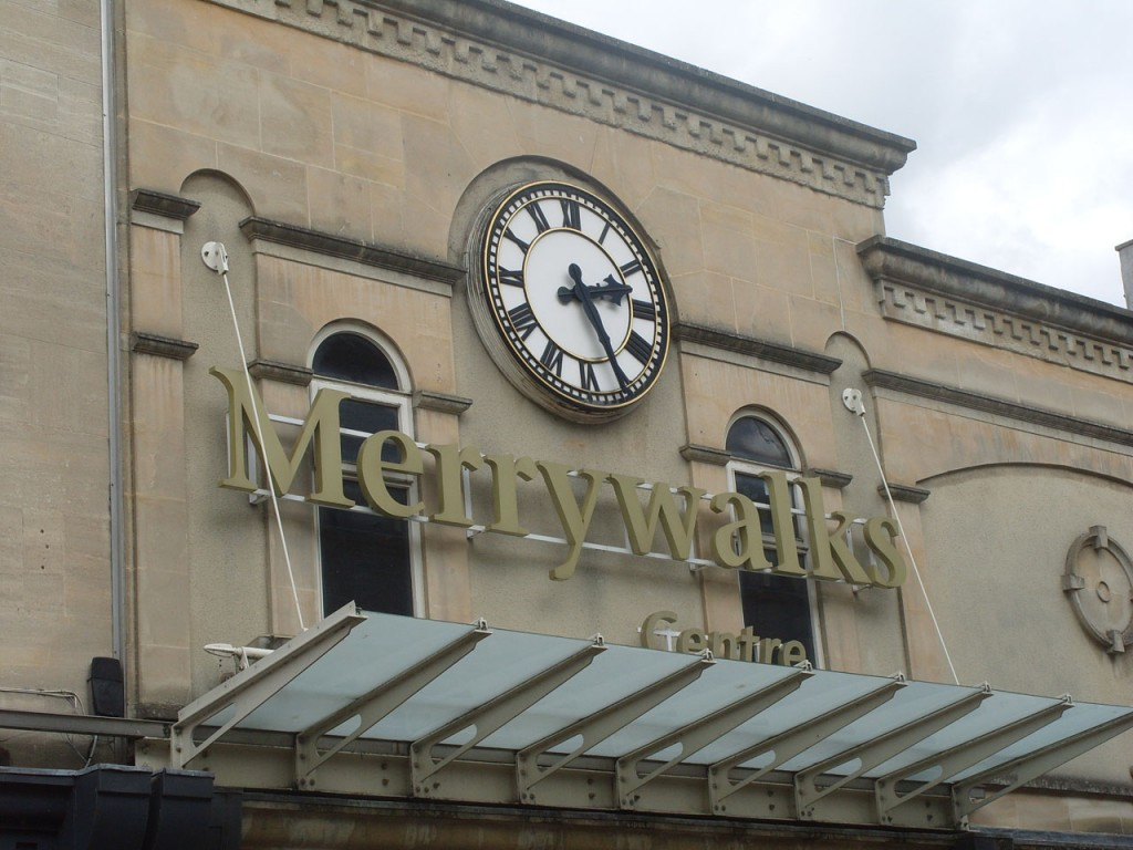 Merrywalks entrance