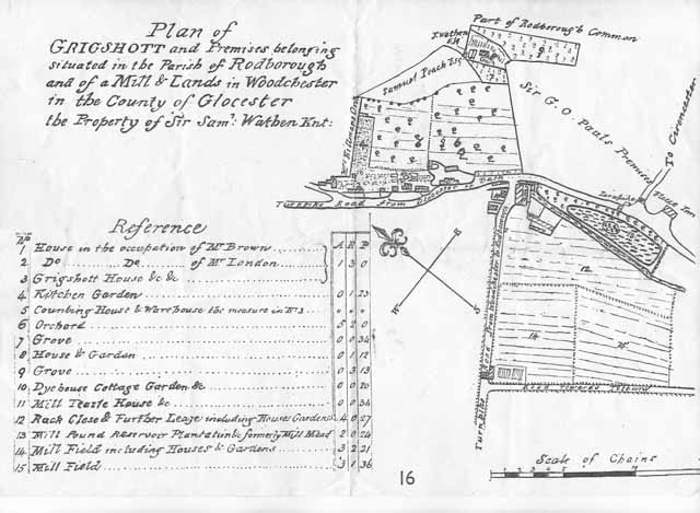 Grigshott plan Rodborough