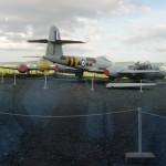 Jet Age Musm yard