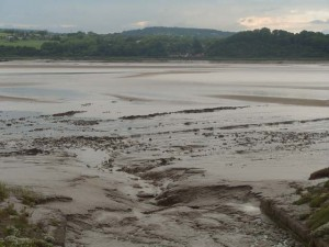 An empty river Severn