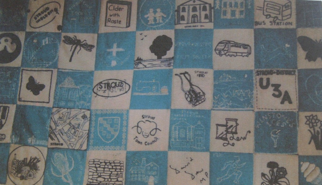 Part of Stroud 700 quilt. Courtesy of S Harrison