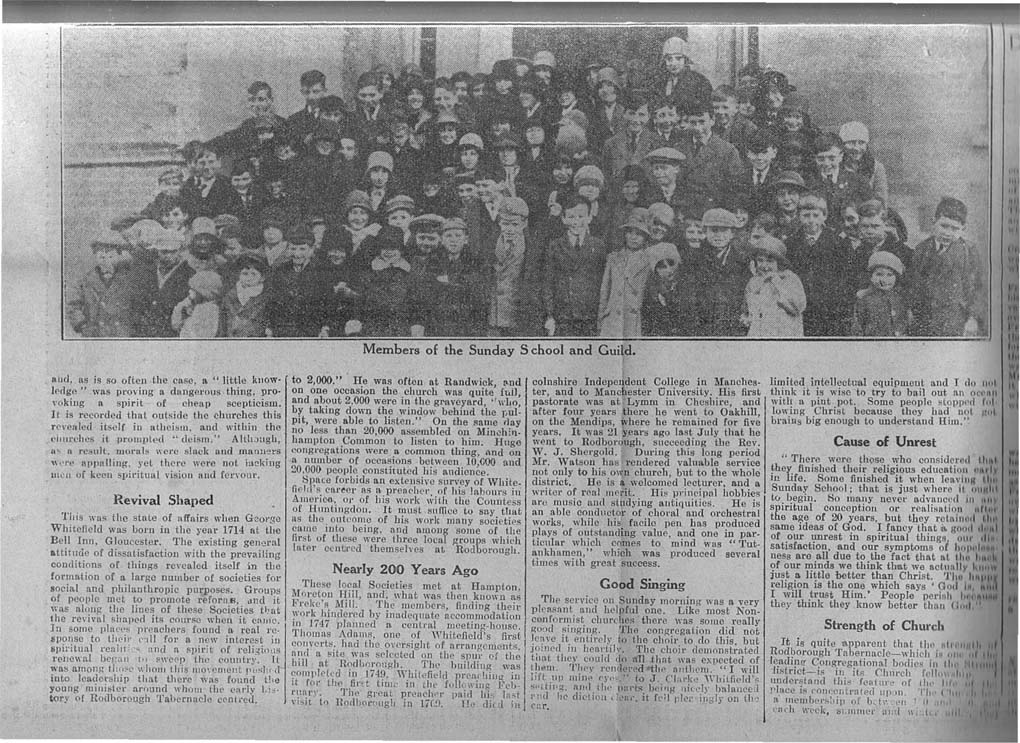 1930_11_29 Gloucester Journal Rodborough Tab-2