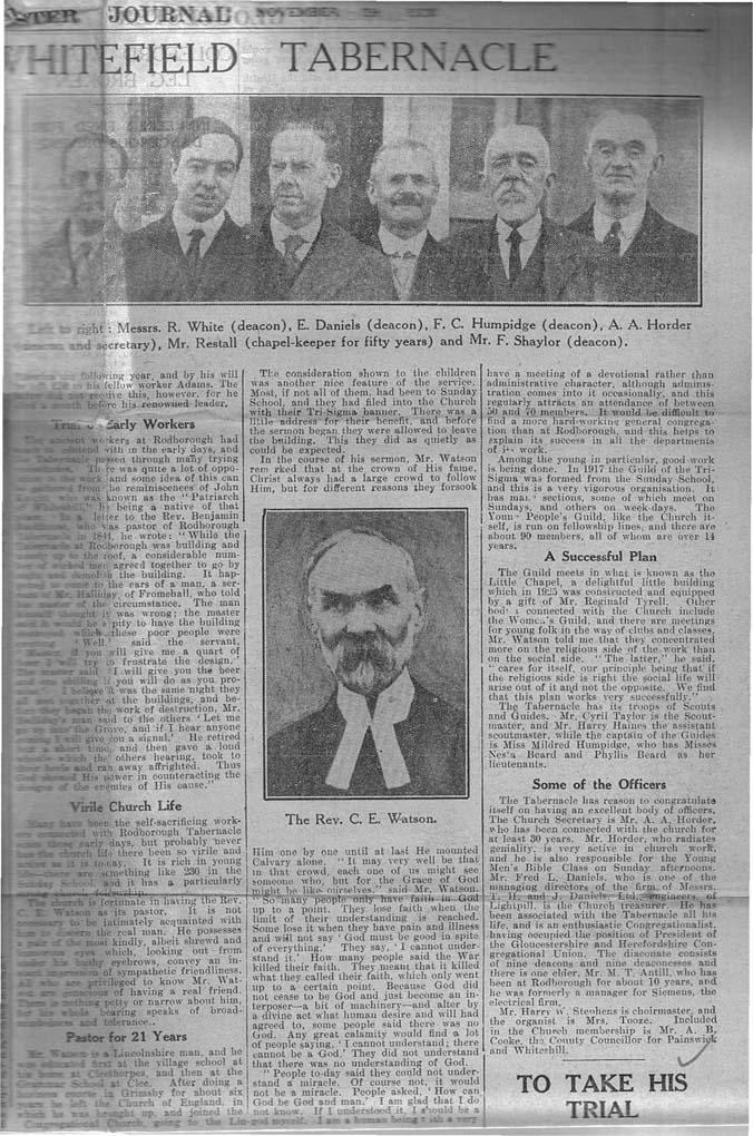 1930_11_29 Gloucester Journal Rodborough Tab-3