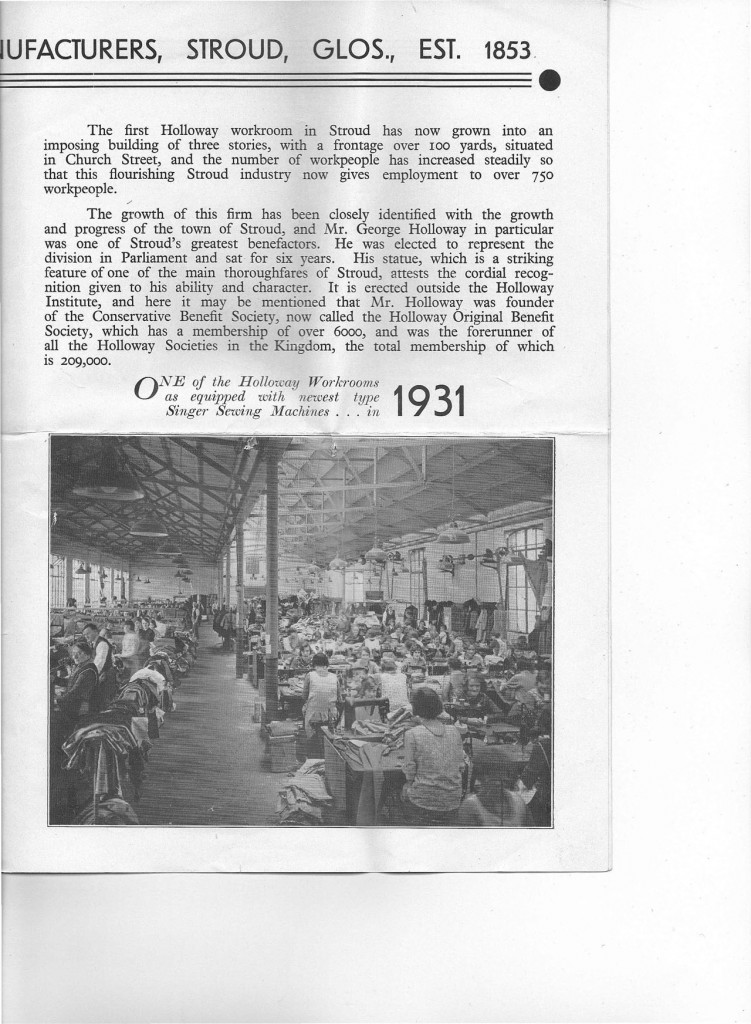 1931 Holloway clothing factory-3 copy
