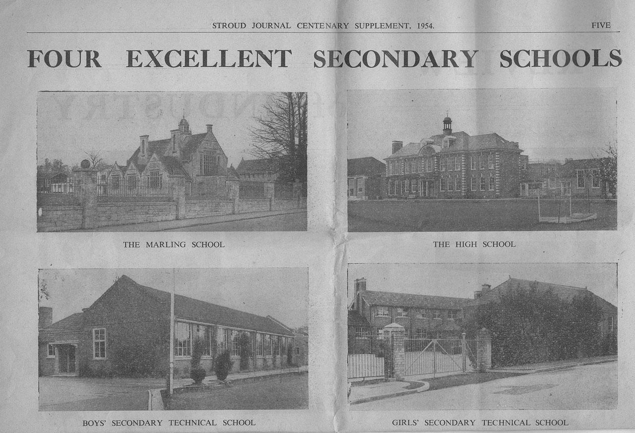 1954 schools pictures