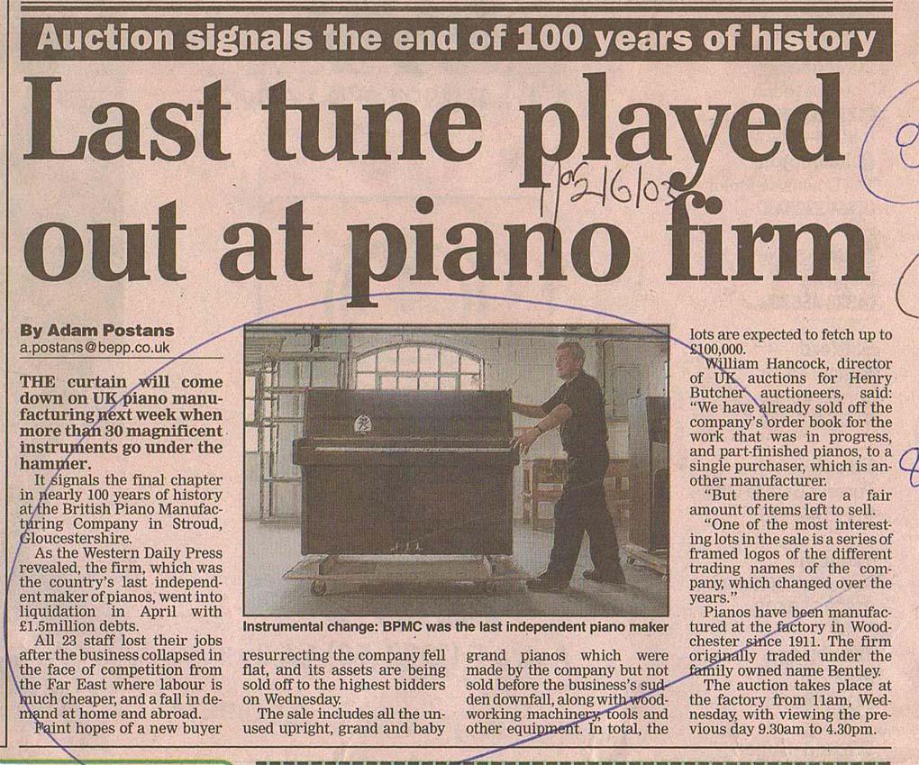 2003_05_31 Western Daily Press