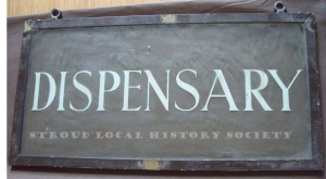 Dispensary sign