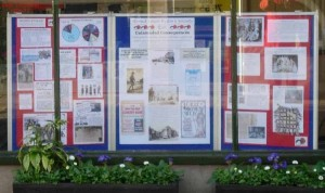Town council office panels in situ cropped