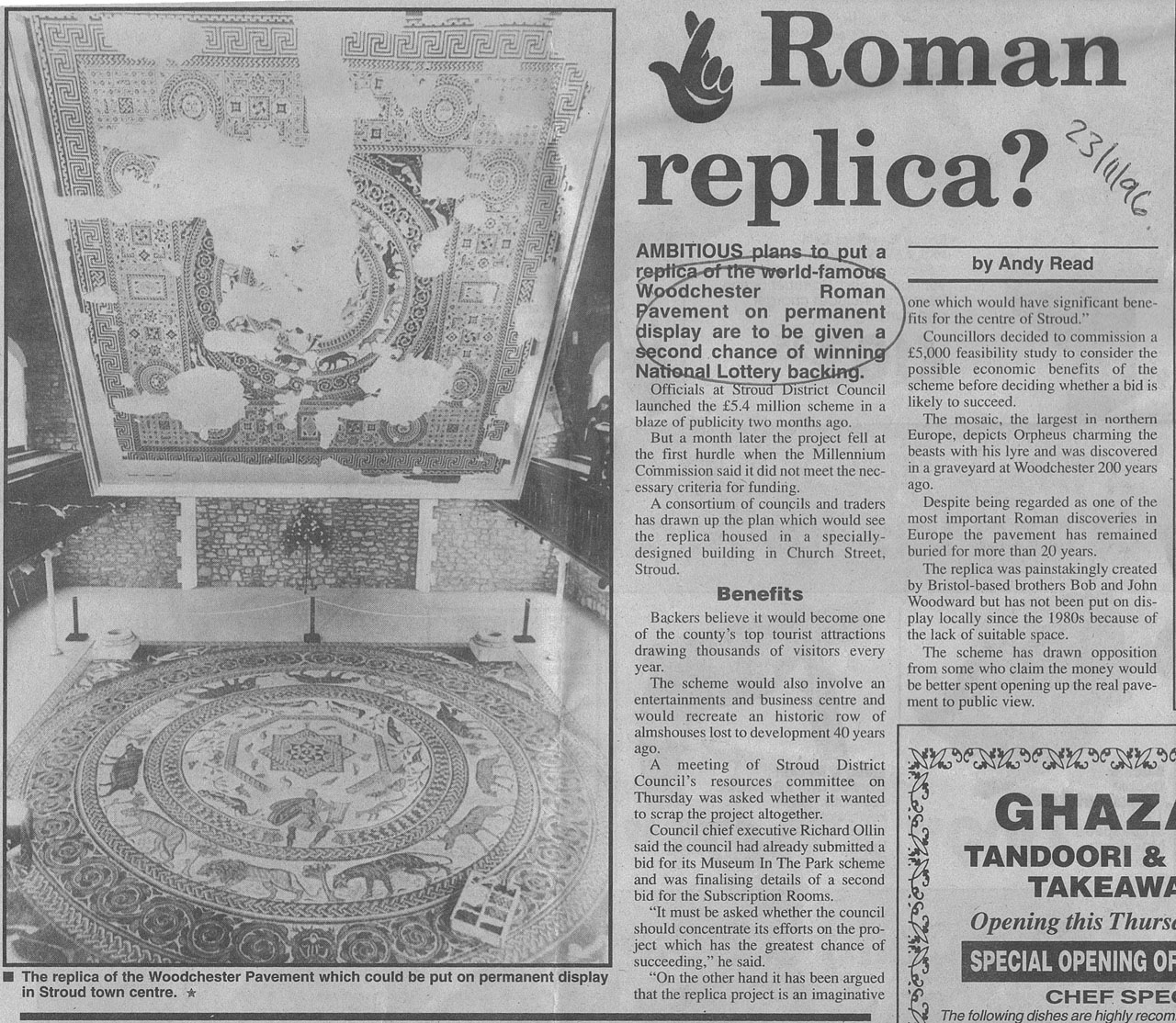 Woodchester Roman Villa Stroud Local History Society