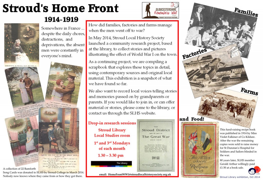 Home Front exhib explanation small copy