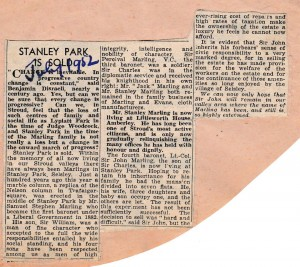 1952_07 Stanley Park sold