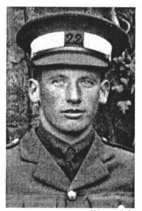 V H SMITH Cadet Jack portrait