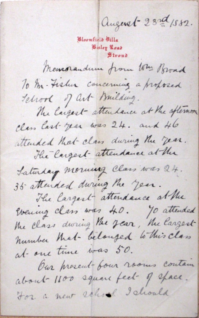 1882 BROAD to FISHER re spec a-sm