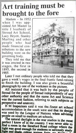 1905 School of Art scaffolding