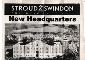 1991 Stroud & Swindon new HQ history 1