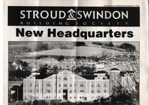 1991 Stroud & Swindon new HQ history 1