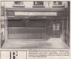 1991 Stroud & Swindon new HQ history 4