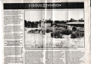 1991 Stroud & Swindon new HQ history 5