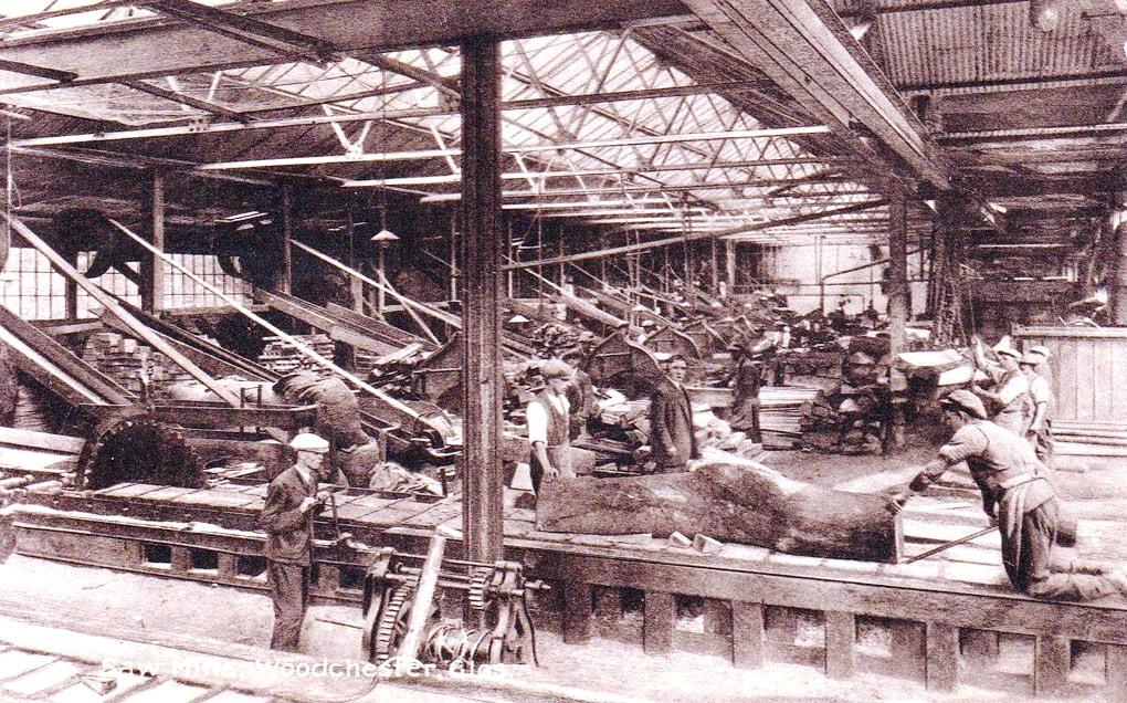 Saw Mills on Railway Traction Engine