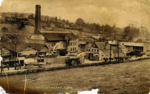 Burrell 4010 seen outside Henry Workman sawmill at Woodchester during the late 1920's